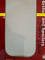 Сетка декоративная Sahler 100*20см Хром №2, 5мм/3мм, СЕТКА Радиатора, сетка декоративная в Бампер