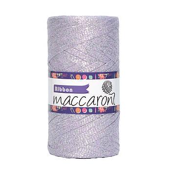 Ленточный шнур Maccaroni Ribbon Glitter 6 mm Сиреневый
