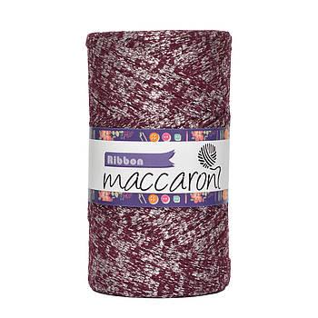 Ленточный шнур Maccaroni Ribbon Glitter 6 mm Кобальт