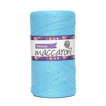 Ленточный шнур Maccaroni Ribbon Glitter 6 mm Топаз