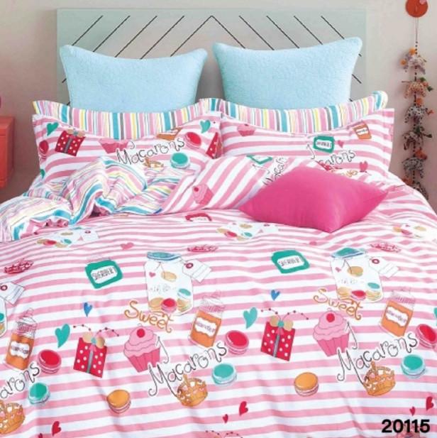 Комплект постельного белья Viluta ранфорс подростковый 20115
