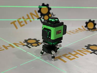 Лазерний рівень Procraft LE-4G зелений промінь., фото 3
