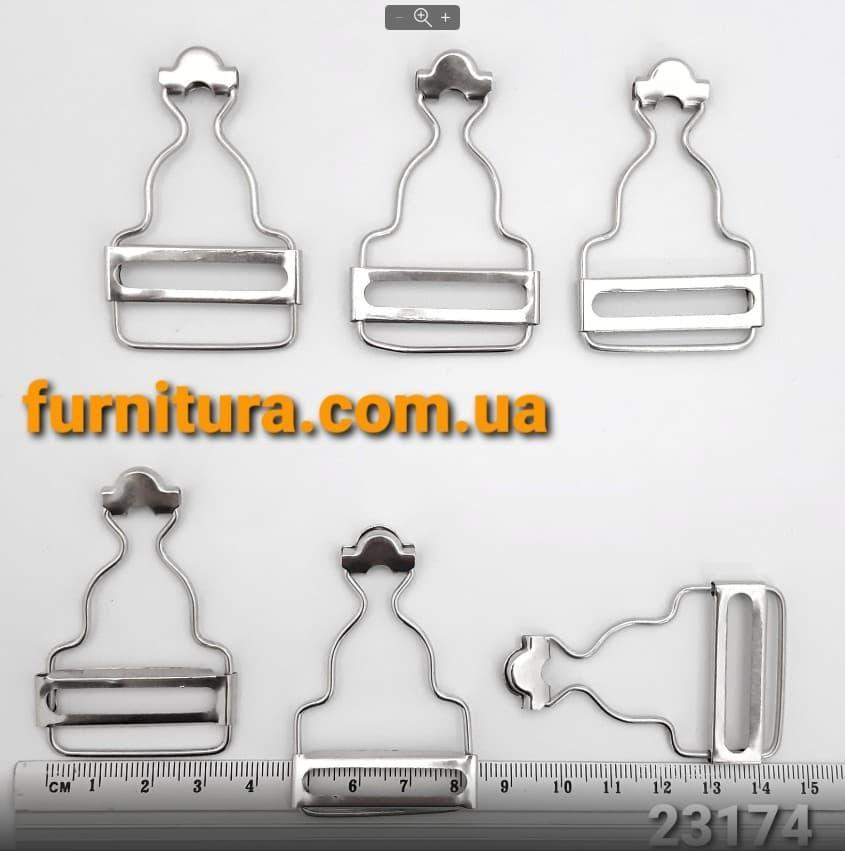 Приспособление для комбинезона никель, 3 см