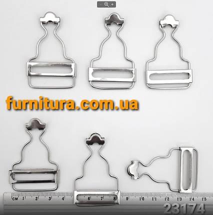 Приспособление для комбинезона никель, 3 см, фото 2