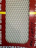 Сітка декоративна Sahler 100*20см Хром №6, 21мм/8мм, СІТКА Радіатора, сітка декоративна в Бампер