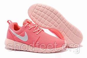 Женские кроссовки Nike Roshe Run Pink Cream