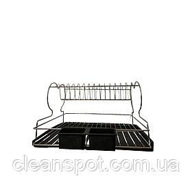 Сушилка для посуды с поддоном TB02 Vinoks металл