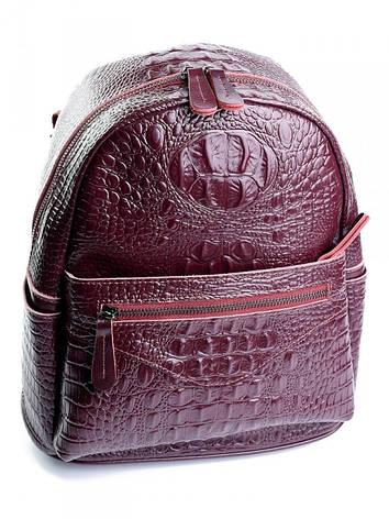 Жіноча сумка шкіряна Case 8980 червона, фото 2