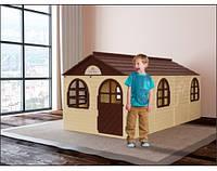 Детский игровой пластиковый домик со шторками ТМ Doloni (большой) 02550/22, фото 1