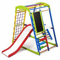Детский спортивный комплекс для дома SportWood Plus 3, фото 1