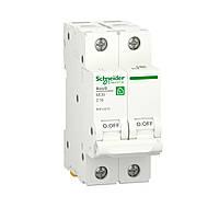 Автоматический выключатель RESI9 6kA 2р 16A C Schneider Electric
