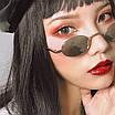 Солнцезащитные очки женские классические узкие овальные ретро, фото 7