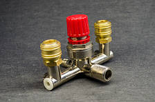 Корпус регулятора давления для компрессора (в сборе, большой)
