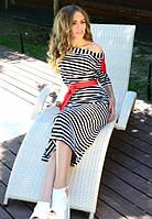 Платье морячка в полоску