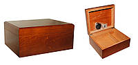 Хьюмидор 09472 для 50 сигар, коричневый, 27х22х12 см
