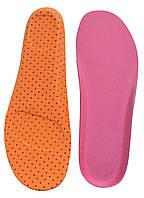 Ортопедические спортивные стельки Eva (Эва) + ткань, р. 43-44, арт. F3005