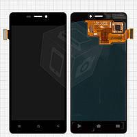Дисплей + touchscreen (сенсор) для Fly IQ4516, оригинал (черный)