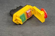 Кнопка включения для бетономешалки (с крышкой)