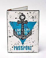 "Обложка на паспорт ""Якорь"""