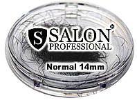 Ресницы накладные единичные SALON PROFESSIONAL (normal 14mm) ресницы для наращивания