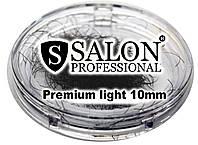 Ресницы накладные единичные SALON PROFESSIONAL (Premium light 10mm) ресницы для наращивания