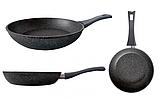 Сковорода Gusto Marble d28 см h7,3 см алюминий, Сковородка алюминиевая, Сковородка с антипригарным покрытием, фото 3