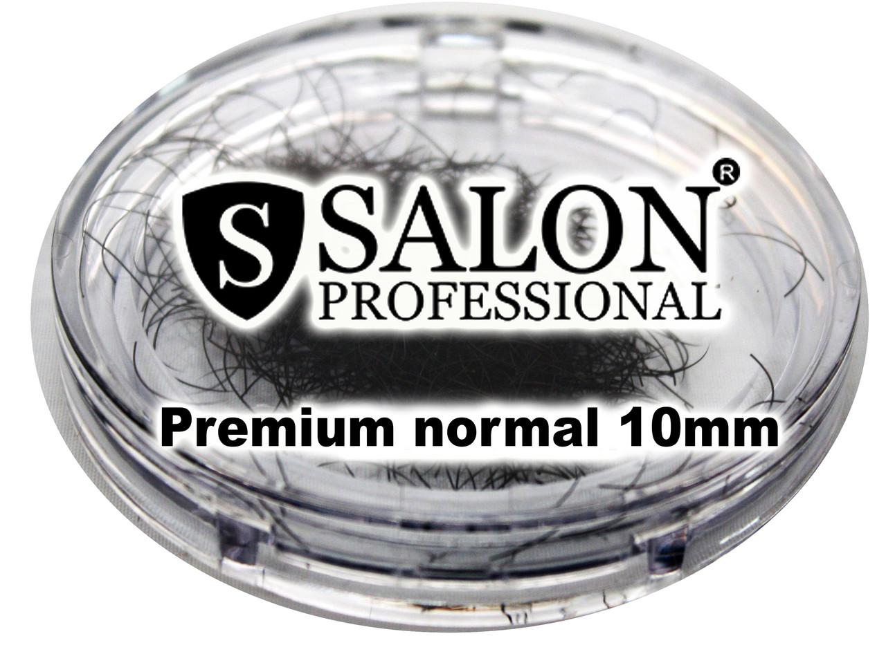Ресницы накладные единичные SALON PROFESSIONAL (Premium normal 10mm) ресницы для наращивания