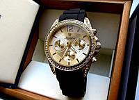 Наручные часы женские Michael Kors Sport черное золото, магазин наручных часов