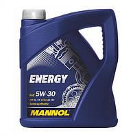 Моторное масло Mannol Energy SAE 5W-30 A3/B4 4 л