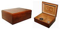 Хьюмидор 09471 для 12 сигар, коричневый, 24х18,5х9см
