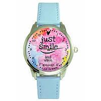 Оригинальные наручные часы. Just Smile