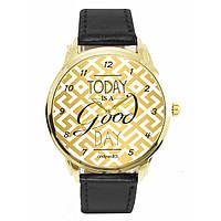 Оригинальные наручные часы. Tooday god day