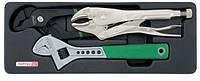 Набор инструмента комбинированный (в ложементе) TOPTUL GBAT0301, фото 1