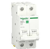 Автоматический выключатель RESI9 6kA 2р 40A C Schneider Electric