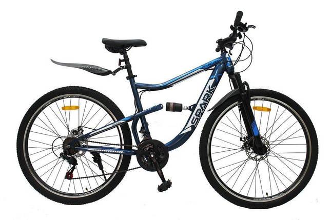 Велосипед SPARK X-RAY 29-ST-19-AM2-D (Синій з блакитним), фото 2