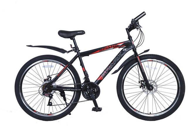 Велосипед SPARK FORESTER 26-ST-19-ZV-D (Черный с красным), фото 2