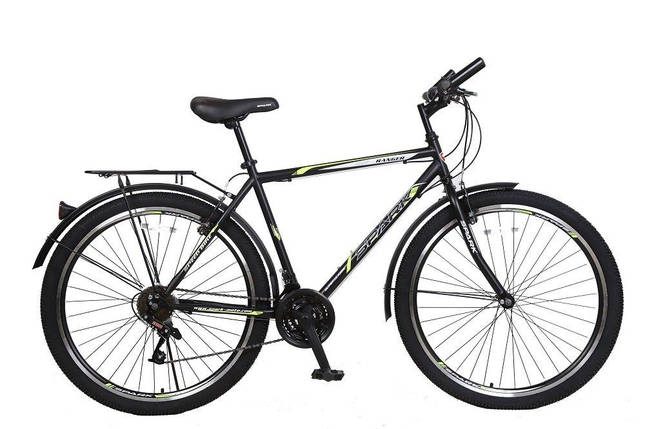 Велосипед SPARK RANGER 27,5-ST-18-ZV-V (Черный с желтым), фото 2