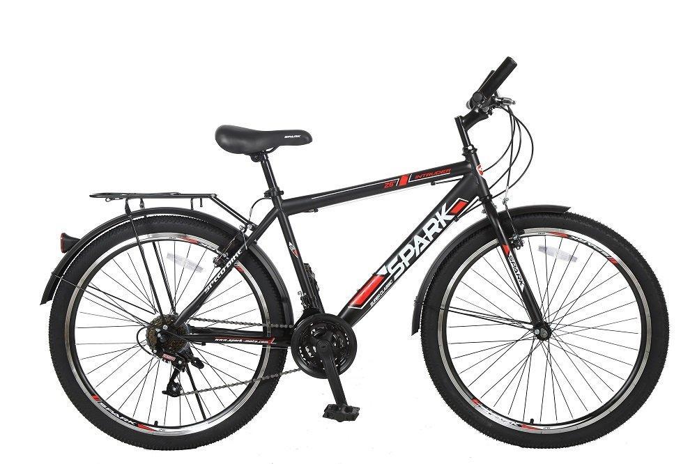Велосипед SPARK INTRUDER 26-ST-18-ZV-V (Чорний з червоним)