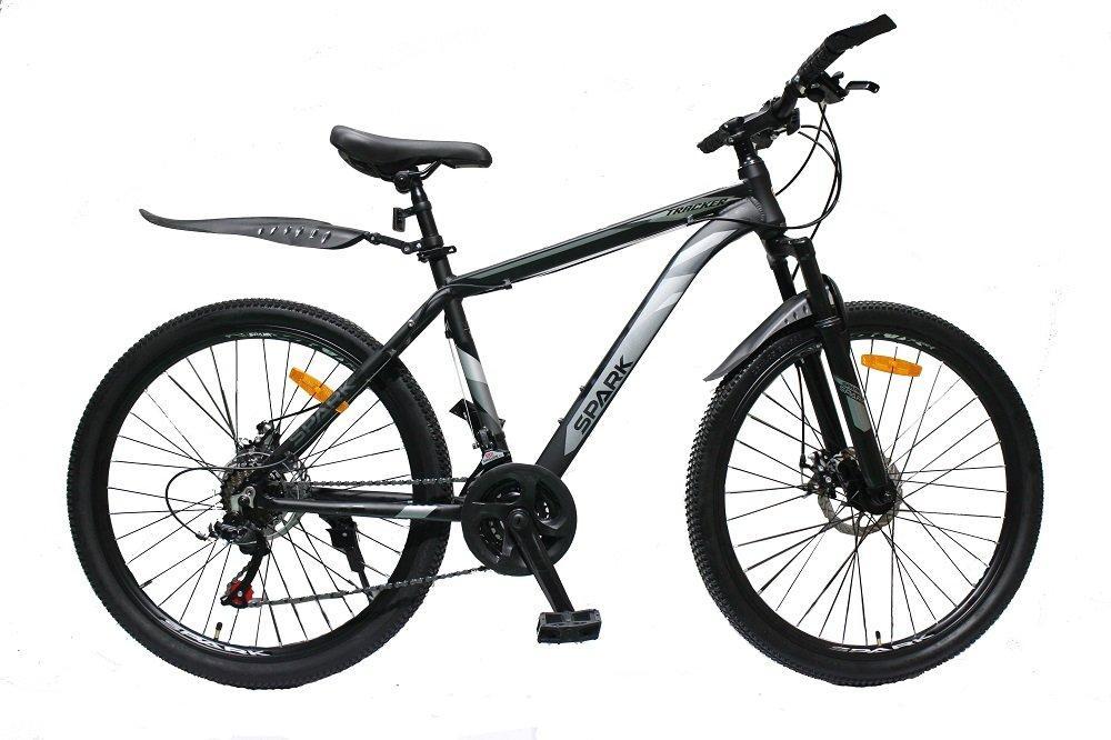 Велосипед SPARK TRACKER 26-AL-18-AM-D (Черный с серым)