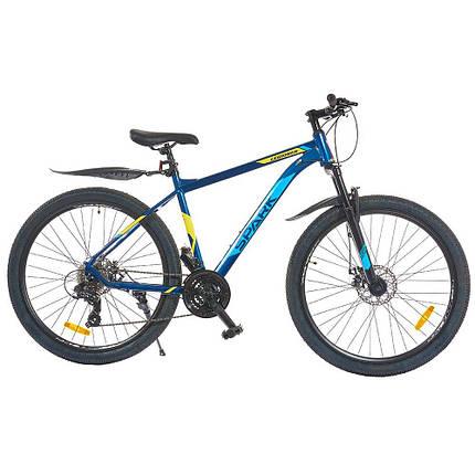 Велосипед SPARK LEGIONER 27,5-Al-19-AML-D Shimano (Синій з блакитним), фото 2