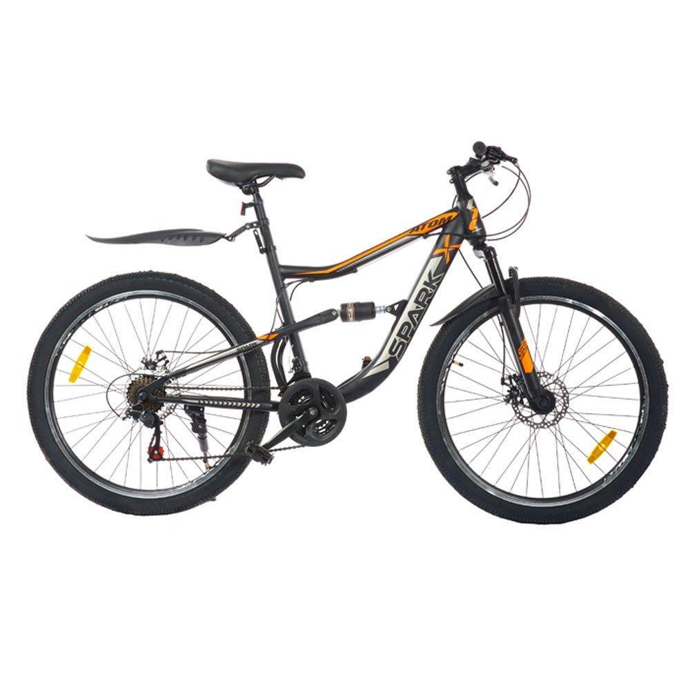 Велосипед SPARK ATOM 26-ST-18-AM2-D (Черный с красным)