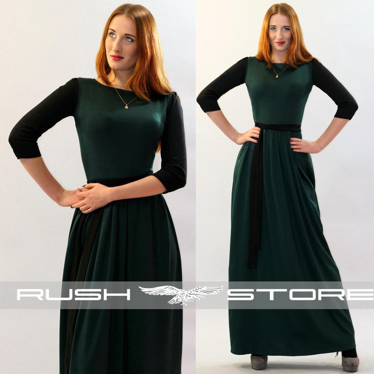 5ad9d727d28 Купить Двухцветное платье в пол в Николаеве от компании