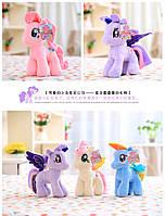 Мягкая игрушка музыкальная  My Little Pony 6 цветов