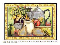 """Схема для вышивки бисером """"Натюрморт с виноградом"""", фото 1"""