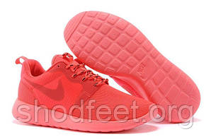 Женские кроссовки Nike Roshe Run Hiperfuse 3M Red