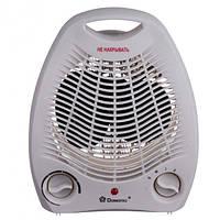 Обігрівач електричний тепловентилятор Domotec MS-5901 дуйка 3 режими роботи 2000 W Білий