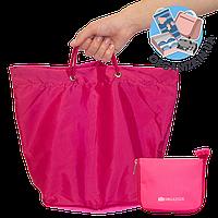Сумка для покупок/Shopper bag ORGANIZE (рожевий)