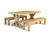 Стол Ларго деревянный массив дуба