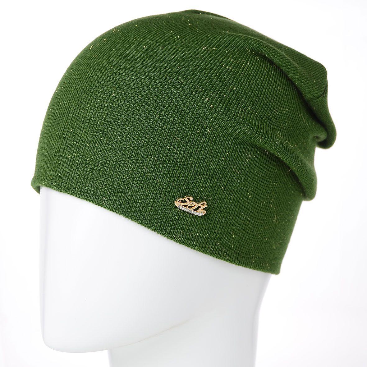 Шапка L19006 зелений