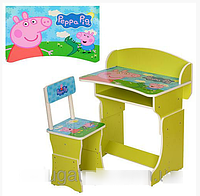 Детская парта - растишка 301-13 Свинка Пеппа***